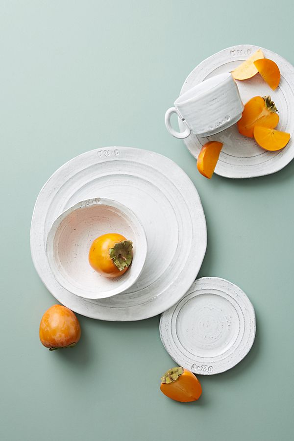 Slide View: 2: Glenna Dinner Plates, Set of 4