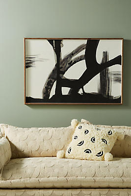 Slide View: 1: Crow Feathers Wall Art
