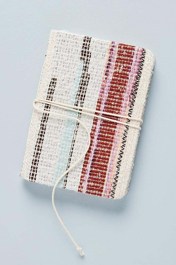 Jess Feury Woven Journal - Beige