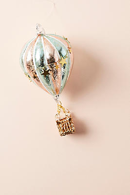 Slide View: 1: Hot Air Balloon Ornament