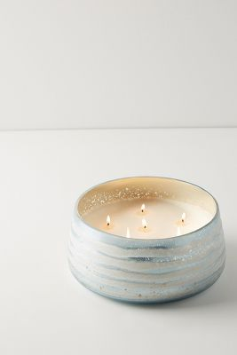Frosted Snow Cypress Candle by Anthropologie