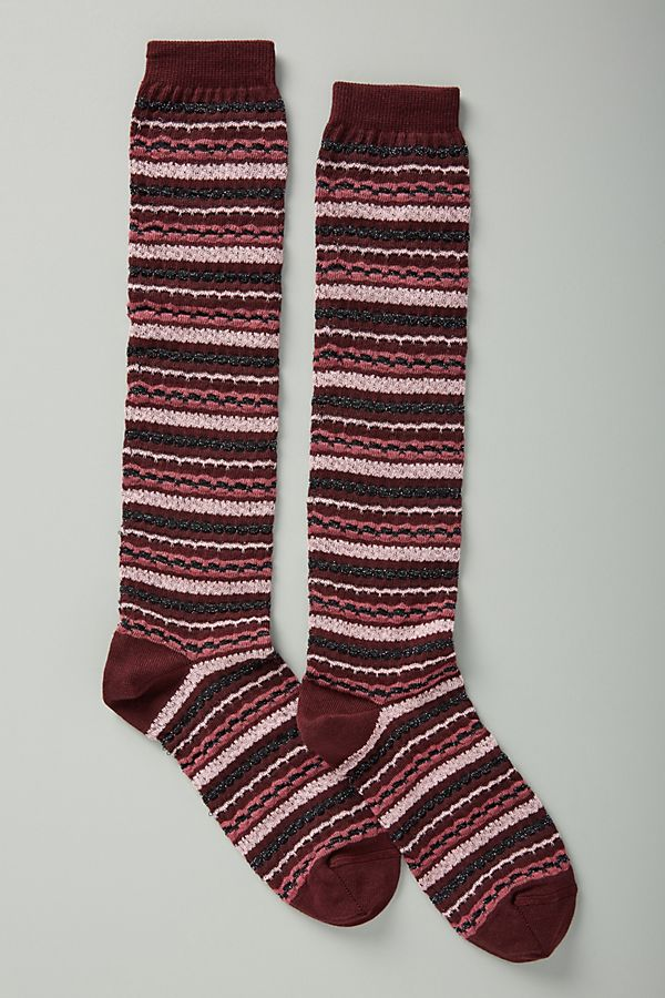 Missoni Textured Knee High Socks Anthropologie