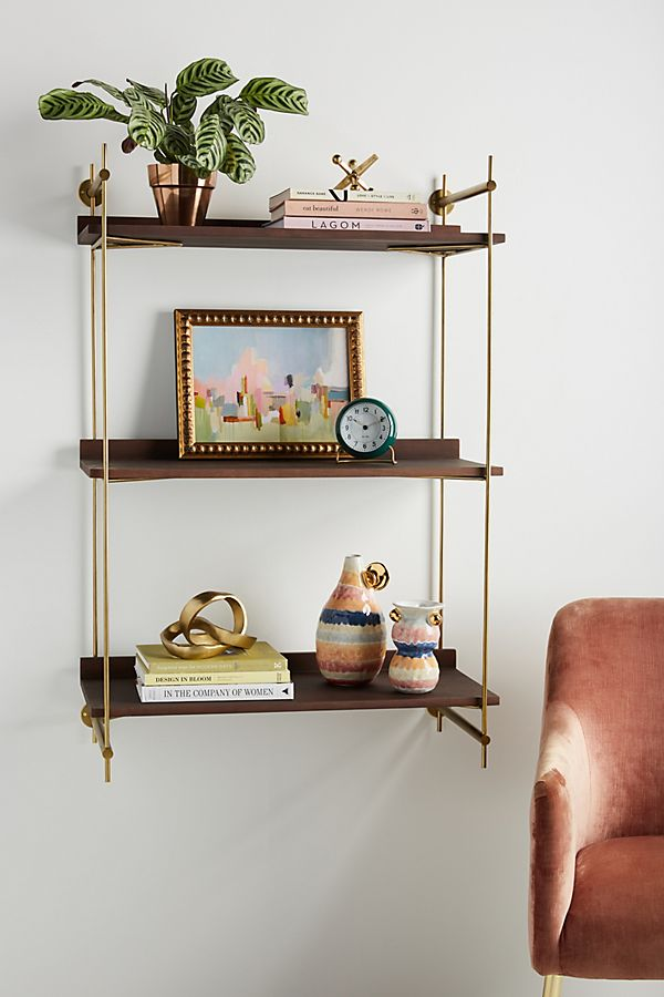 Slide View 1 Astoria Wall Mounted Shelving Unit