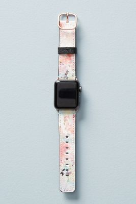 Casetify Watercolor Leather Apple Watch Band by Casetify