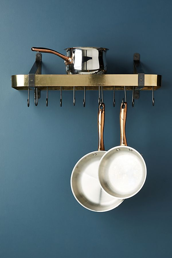 Slide View: 1: Gala Wall Mounted Pot Rack