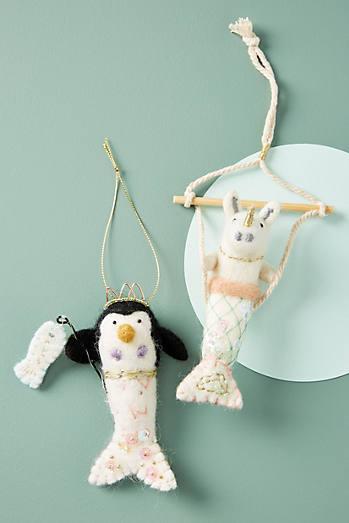 Meagan Alessio Mermaid Ornament