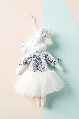Unicorn Dancer Ornament by Alice Mary Lynch