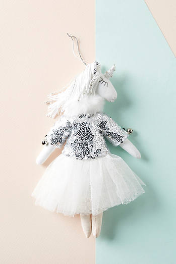 Alice Mary Lynch Unicorn Dancer Ornament