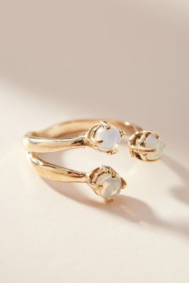 Triple Twisted Wrap Ring by Anthropologie