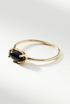 Marquise Stone Ring by Studio Grun