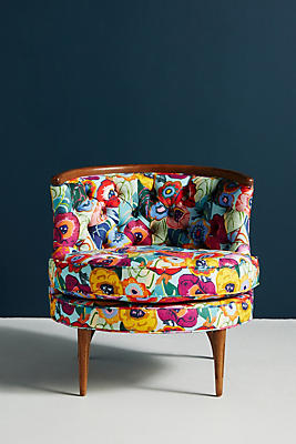 Slide View: 1: Karina-Printed Bixby Chair