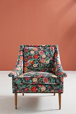 Slide View: 1: Emma-Printed Tillie Chair