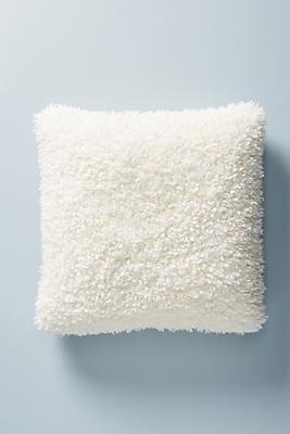 Slide View: 1: Fuzzy Faux Fur Pillow