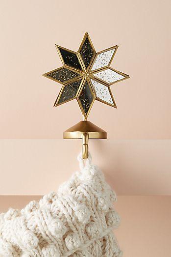 shining star stocking holder