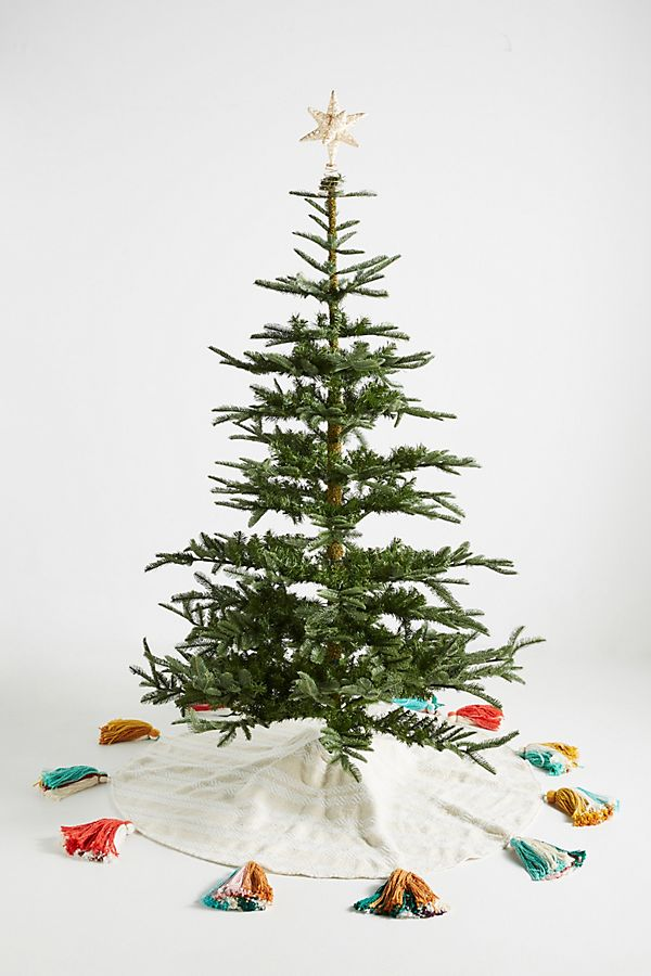 Slide View: 1: Treasured Tassels Tree Skirt