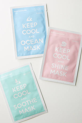 Keep Cool Face Mask Set