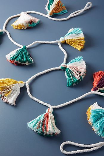 treasured tassels garland