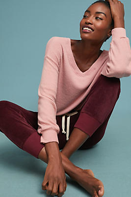 Slide View: 1: Parca Ribbed Pullover