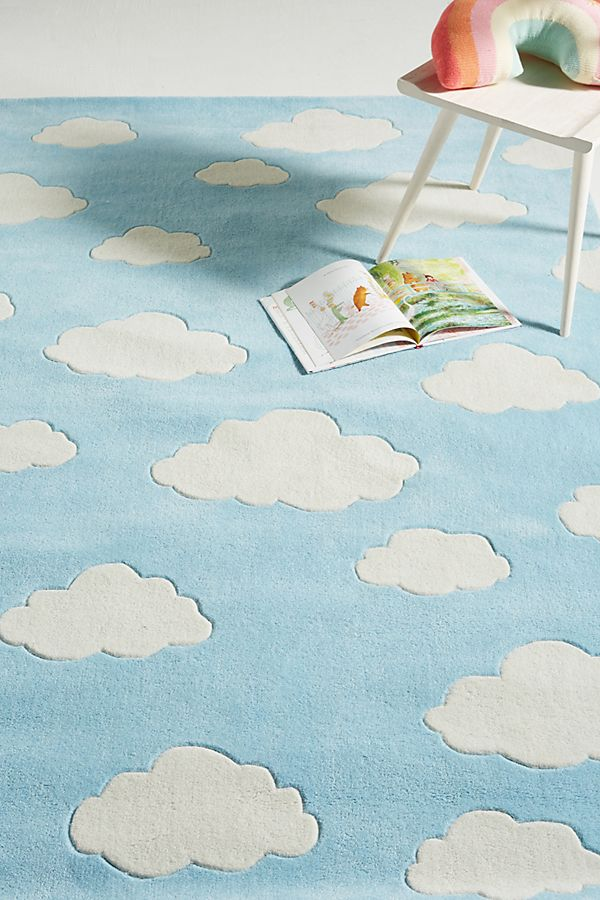 Slide View: 2: Clouds Rug