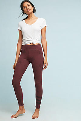 Slide View: 1: Sundry Star Yoga Pants