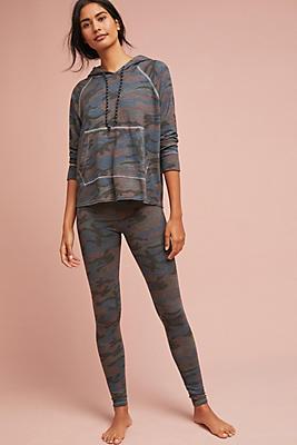 Slide View: 1: Sundry Camo Yoga Pants