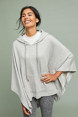 Slide View: 1: Sundry Hooded Poncho
