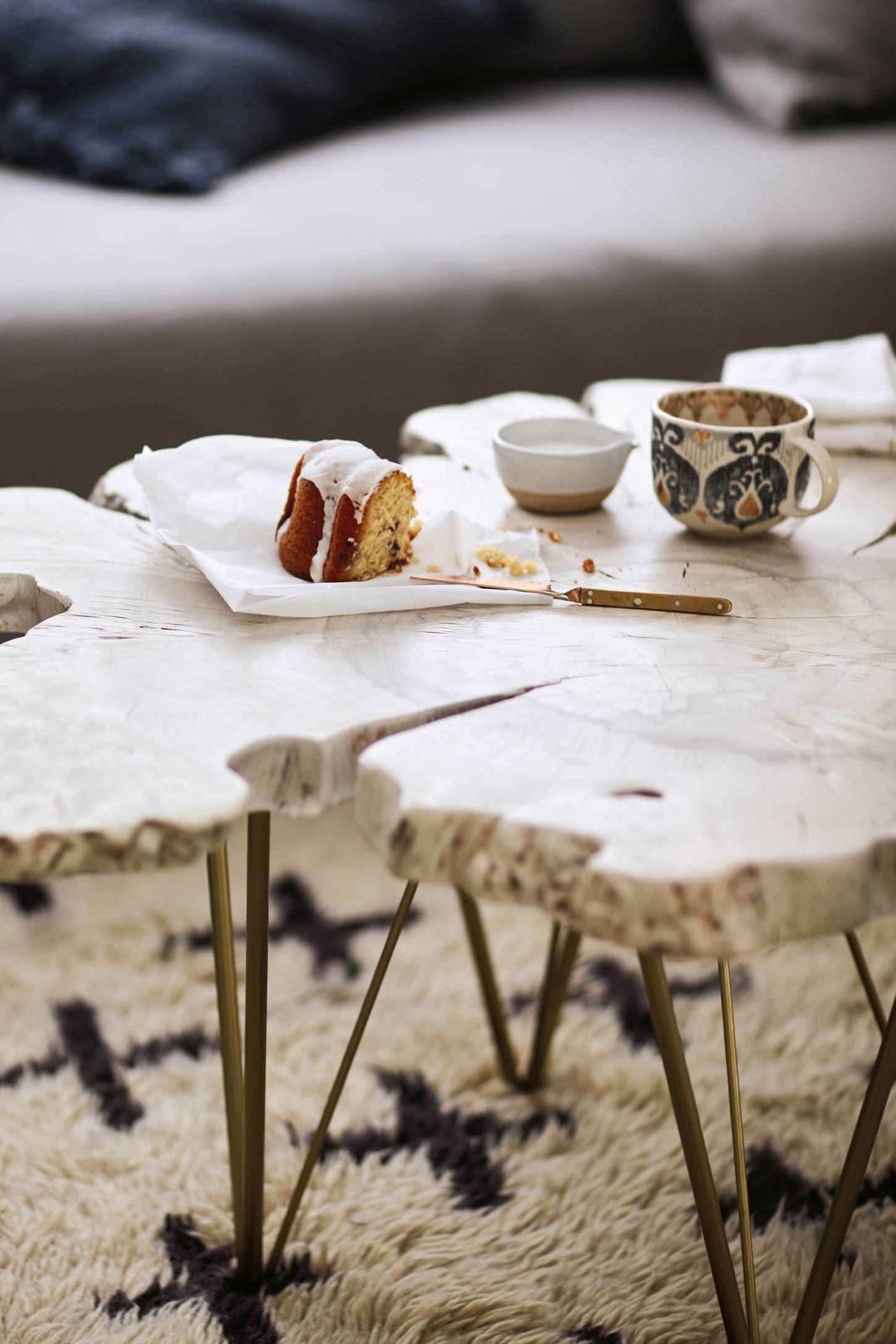 Yucatan Live-Edge Coffee Table | Anthropologie