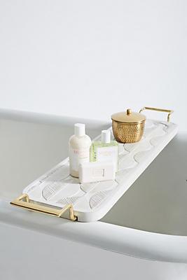 Slide View: 1: Lotus Bathtub Caddy