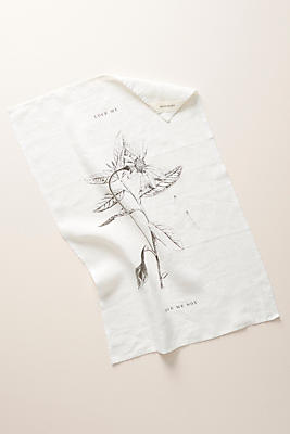 Slide View: 1: Illustrated Tea Towel