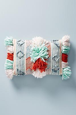 Slide View: 1: Malia Textured Pillow