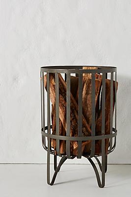 Slide View: 1: Fireside Log Holder