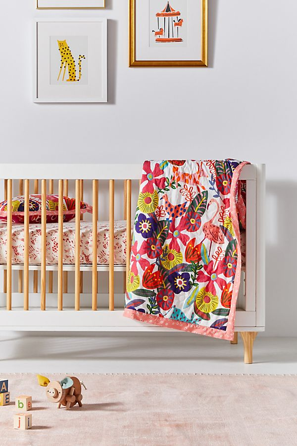 Slide View: 1: Isabelle Toddler Quilt
