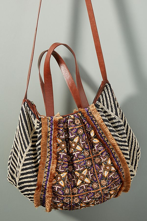 Anthropologie Tangier Tote Bag
