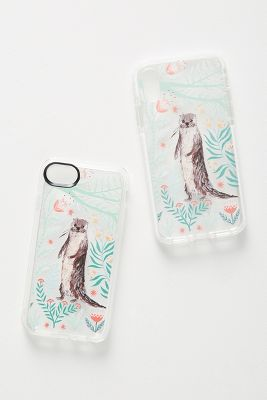Casetify Floral Otter I Phone Case by Casetify