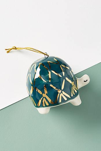 Gail Cc Ceramics Turtle Ornament