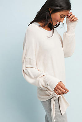 Slide View: 1: Payton Brushed Fleece Pullover