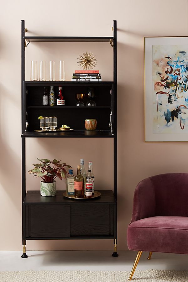 Slide View: 1: Kalmar Wall Mounted Bar Unit