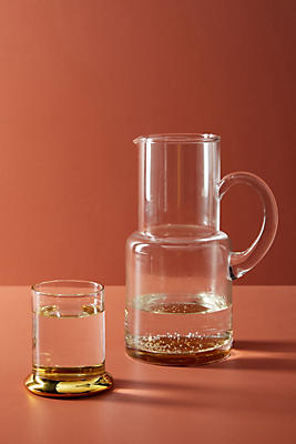 Slide View: 1: Marlo Pitcher + Glass Set
