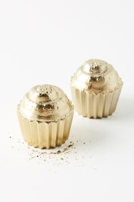 Cupcake Salt & Pepper Shakers by Anthropologie