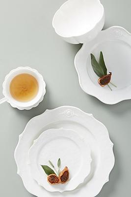 Slide View: 4: Ville Fleur Dinner Plates, Set of 4
