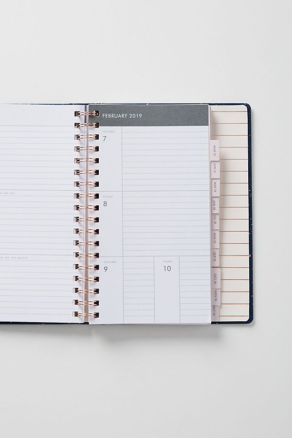 mila 2019 12 month planner anthropologie