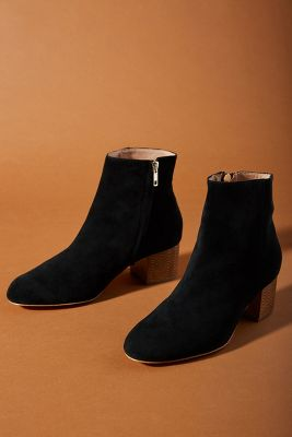 Anthropologie Statement Heel Boots by Anthropologie