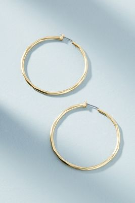 Ray Of Light Hoop Earrings by Anthropologie
