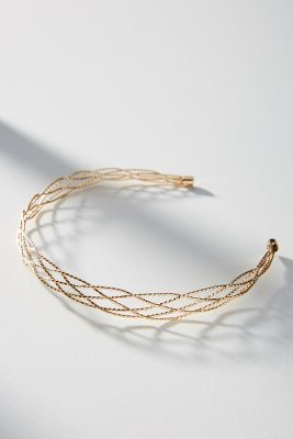 Rapunzel Braided Headband by Anthropologie
