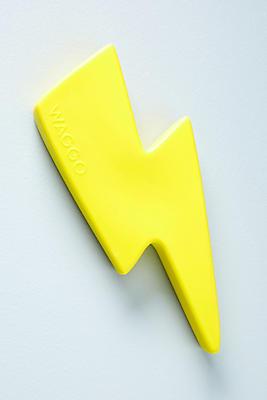 Slide View: 1: Lightning Rubber Dog Toy