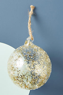 Slide View 1 Gold Dusted Ornament