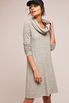Slide View: 1: Lisbeth Brushed Fleece Dress