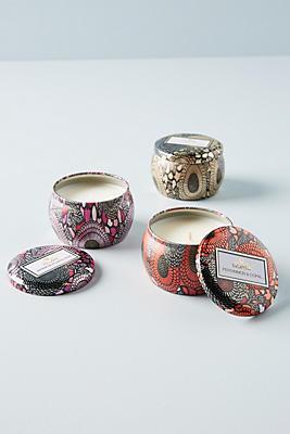 Slide View: 2: Voluspa Mini Tin Candles, Set of 3