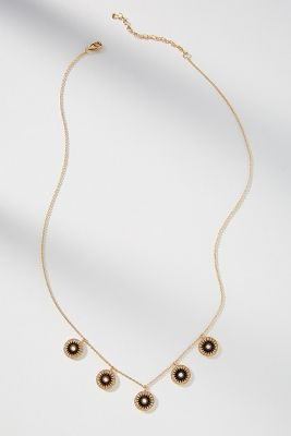 Midnight Coin Necklace by Anthropologie