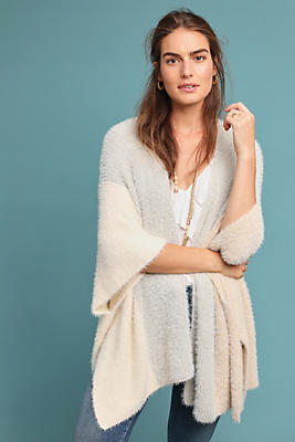 Slide View: 1: Cozy Knit Wrap